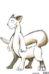 treecat concept drawing by zenzmurfy
