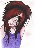 Scene Girl by CrimsonMayhem
