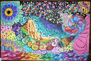 Sharpie Art A by ChrysDawid