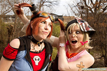 Gaige and Tiny Tina by BlackMesaNorth