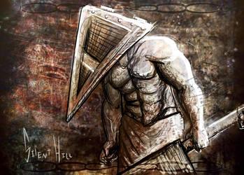 Pyramid Head love by ADDICT-Se