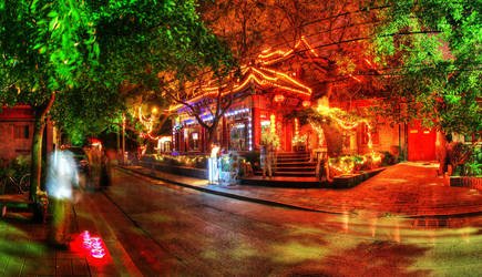 Houhai Beijing China by davidmcb