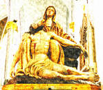 Pieta Immaculate Conception Jacksonville Florida by davidmcb