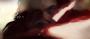 last Jedi Speedpaint by Vimes-DA