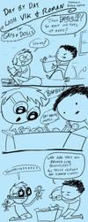 Fast Comics: Gays and Dolls by RomanJones