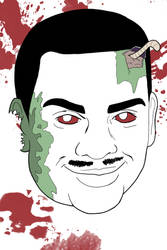 Zombie Carlton by RomanJones