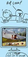 Fast Comics: Tent by RomanJones