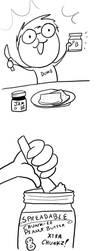 Fast comics: Peanut butter by RomanJones
