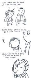 Fast Comics: Bus Ride by RomanJones