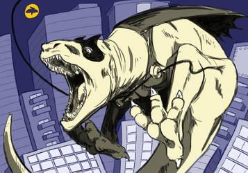 Patreon Reward: Dinobat by RomanJones