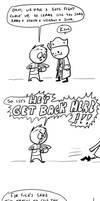 Fallout comics #45: Oswald Glitch by RomanJones