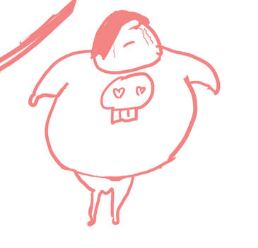 Emo guy doodle by RomanJones