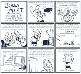 Bunny Meat 115: Playstation by RomanJones