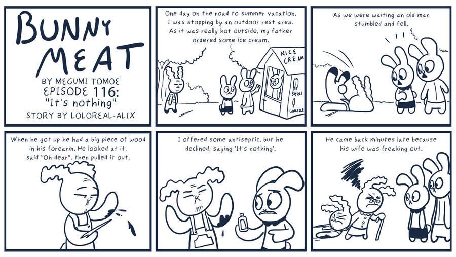 Bunny Meat 116: It's Nothing by RomanJones