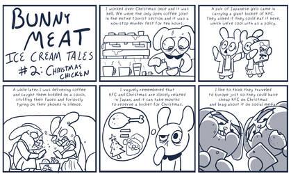 Bunny Meat: Ice Cream Tales #2: Christmas Chicken by RomanJones