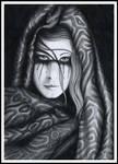 Queen of Sorrow by DragonTreasureArt