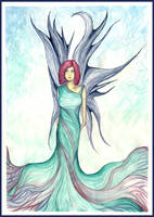 Fabric of Time Faery by DragonTreasureArt