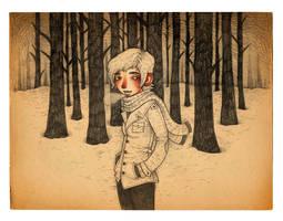 dark woods by mutsy