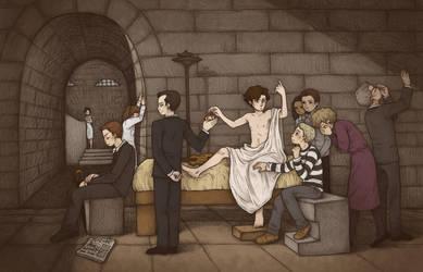 The Death of Sherlock by mutsy
