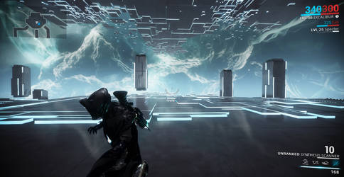Okay....Not Tron World But Super Trippy (Warframe) by TheRenegade01