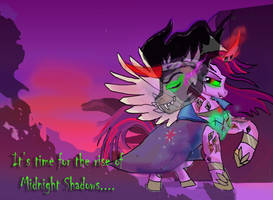 Twilight Sparkle- Queen of shadows Chapter 5 by raggyrabbit94