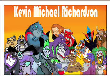 Kevin Michael Richardson tribute by raggyrabbit94