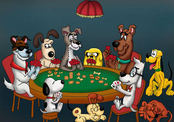 Poker Night by raggyrabbit94