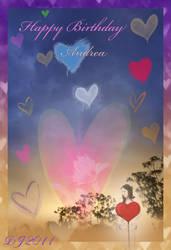 Raining Hearts by starlight2infinity