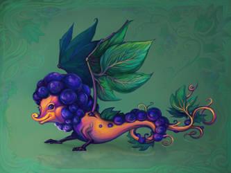 Grapes by Yullapa