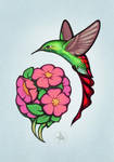 Bouquet for the Hummingbird by Yullapa