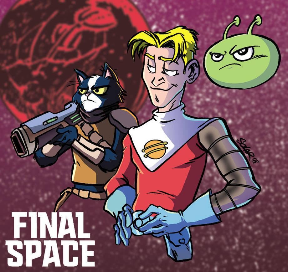 Final-Space by Solarjavier