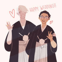 Wedding pic by roses-and-phantoms