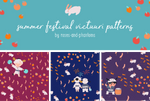 summer festival victuuri pattern set!! by roses-and-phantoms