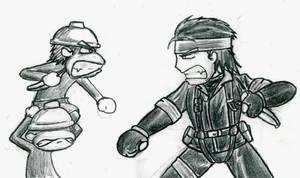 'Snake vs. Monkey' by StinkBomber