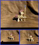 Royal Guard Pony in Holly by xofox