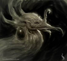 Fairy Dragon Sketch by TestosteronMan