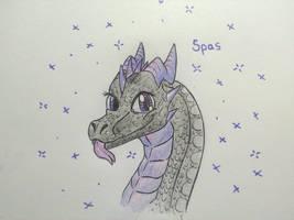 [Gift] Spasy Dragon by RainbowDragon14