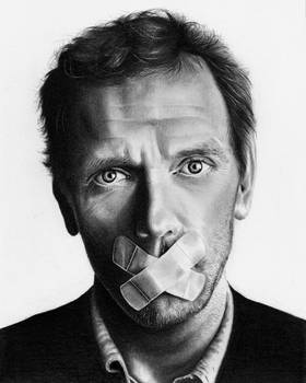 Dr House - Hugh Laurie by shonechacko