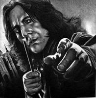 Snape by shonechacko