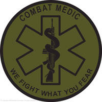 Military Medic logo English by Nossnomis