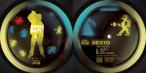 boombap002 vinyl centers by c0p