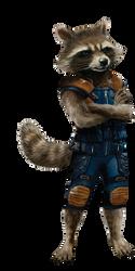 Guardians of the Galaxy Vol 2 Rocket PNG by Metropolis-Hero1125