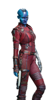 Guardians of the Galaxy Vol 2 Nebula PNG by Metropolis-Hero1125