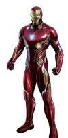 Avengers Infinity War Iron Man PNG by Metropolis-Hero1125