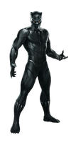 Avengers Infinity War Black Panther PNG by Metropolis-Hero1125