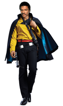 Solo a star wars story Lando Billy Dee William PNG by Metropolis-Hero1125