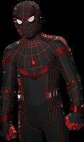 MCU Miles Morales Spider-Man PNG by Metropolis-Hero1125