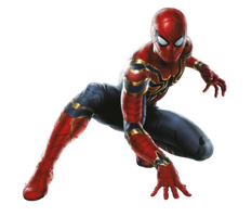 Avengers Infinity War Iron Spider PNG by Metropolis-Hero1125