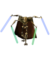 Star Wars Revenge of the Sith General Grevious PNG by Metropolis-Hero1125