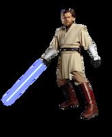 Star Wars the Clone Wars Obi-Wan Kenobi PNG by Metropolis-Hero1125